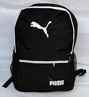Городской рюкзак puma черно-белый