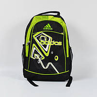 Спортивный рюкзак adidas салатовый зиг заг