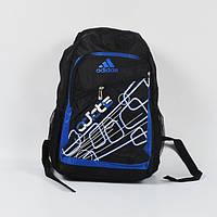 Спортивный рюкзак adidas серо-синими разводами