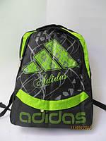 Спортивный рюкзак adidas салатовая эмблема