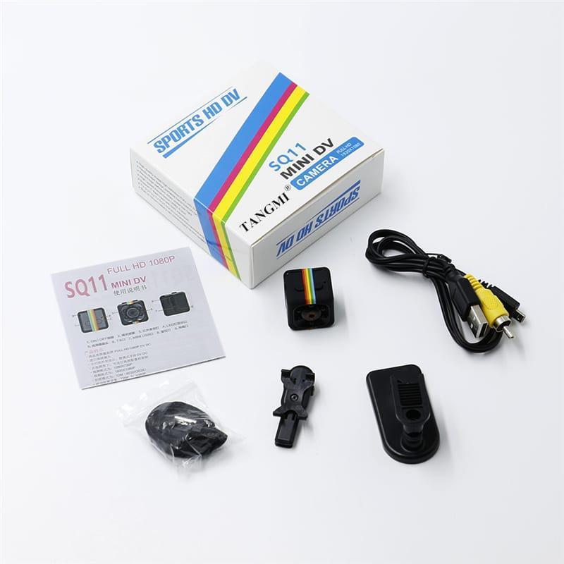 Мини Камера /Видеорегистратор Mini DV Camera SQ11 Quelima (Лучше SQ8 /SQ9), фото 1