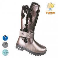 Сапоги низкиеТОММ 5125С темное серебро  37