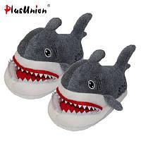 Тапочки-игрушки  Акулы Grey