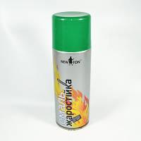 Краска термостойкая (жаростойкая) аэрозольная зеленая New Ton 400 мл