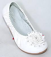 Детские нарядные балетки для девочки Польша размеры 31-36