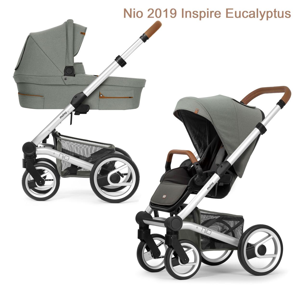 Универсальная коляска 2 в 1 Mutsy Nio 2019