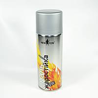 Краска термостойкая (жаростойкая) аэрозольная антрацит New Ton 400 мл