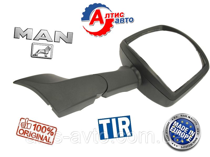 Бордюрное зеркало MAN Tga, Tgl, Tgm, Tgx, Tgx переднее на грузовики МАН 81637306660