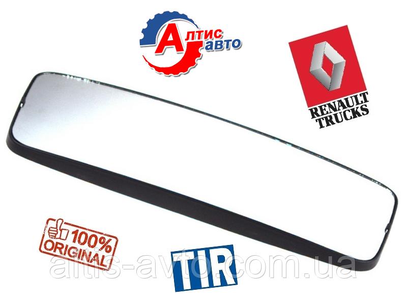 Стекло зеркала для Renault Magnum с подогревом вставка Рено Магнум (460X180)