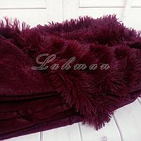 Чехол для подушки травка  50х70 см., бордовый