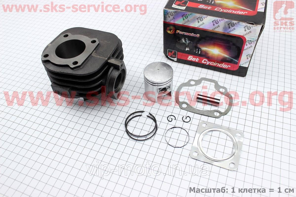 Цилиндр к-кт (цпг) Suzuki Lets 50сс-41мм (палец 10мм)