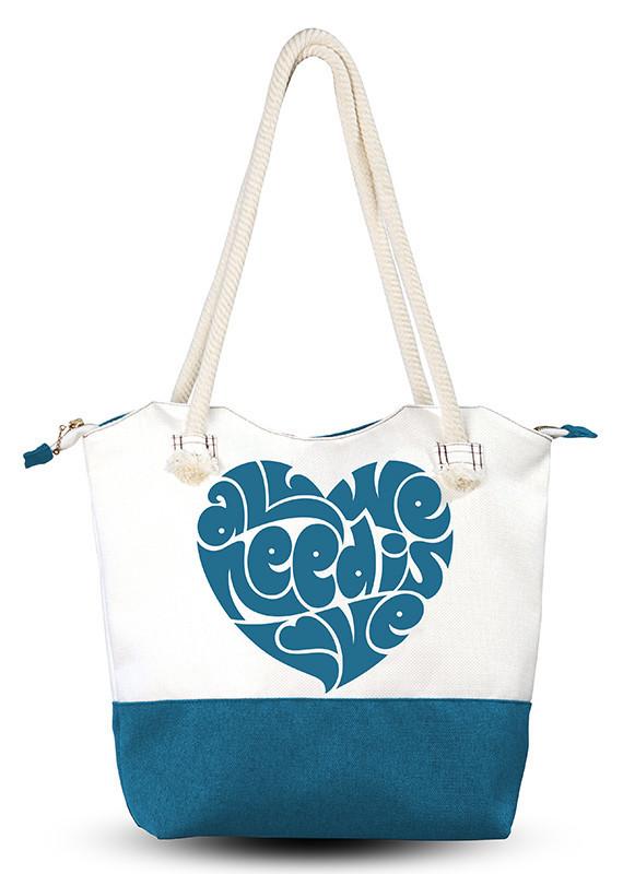 Женская сумка Синее сердце