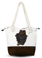 Дамская сумка Пес в шляпе