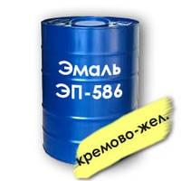 Эмаль ЭП-586 для защиты металлических деталей