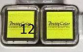 Краски для печатей goki салатовый 15345G-12