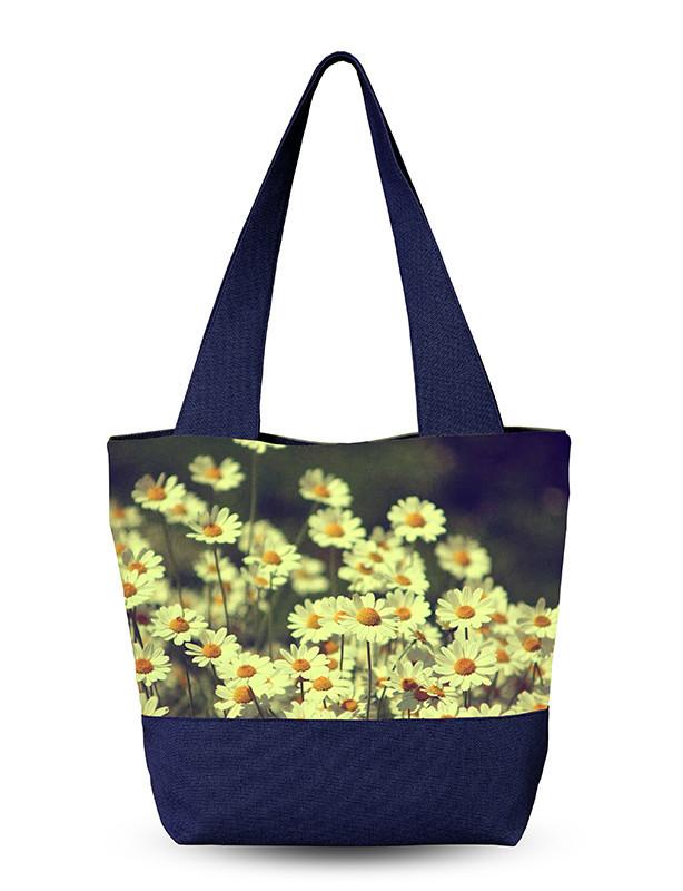Женская сумочка с 3D рисунком Ромашки