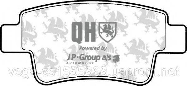 Тормозные колодки JP group 1263701019 на Opel Corsa / Опель Корса