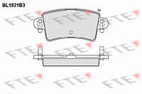 Тормозные колодки FTE BL1821B3 на Opel Movano / Опель Мовано