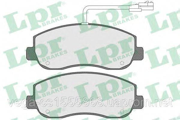 Тормозные колодки LPR 05P1579 на Opel Movano / Опель Мовано