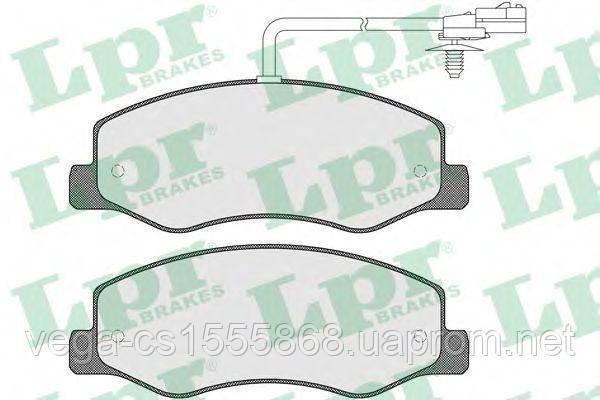 Тормозные колодки LPR 05P1570 на Opel Movano / Опель Мовано