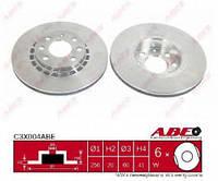 Тормозной диск Abe C3X004ABE на Opel Astra / Опель Астра