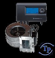 Комплект автоматики для твердотопливных котлов блок управления Euroster 11W + турбина WPA 120