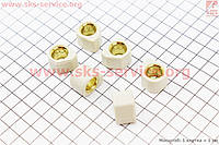 Ролики вариатора D-форма 6шт, 18*14 - 10,5г, Тюнинг