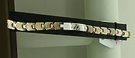Изящный браслет на звеньях с звездами, позолота 18 K. Бижутерия Xuping. 2