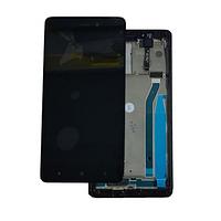 Дисплей (экран) для Xiaomi Redmi 3/3 Pro/Redmi 3s/3s Prime/Redmi 3x + тачскрин, черный, с передней панелью