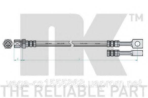 Тормозной шланг NK 853647 на Opel Astra / Опель Астра