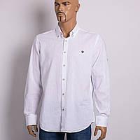 02358f1939d56 Рубашка с длинным рукавом мужская VIGOSS V 68657-00318 BEYAZ KTN