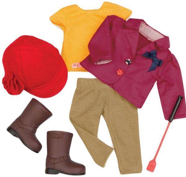 11d25550ff0dee Набор одежды для кукол Our Generation Deluxe для верховой езды BD30121Z -  Интернет-магазин