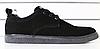 Туфли мужские черные из натурального нубука