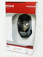 Мышь проводная LENOVO Optical Mouse чёрная