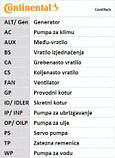 Ремень ГРМ Contitech CT1078 на Opel Astra / Опель Астра, фото 9