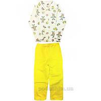Пижама для девочки Желтые Зайцы ТМ Niso Baby 603ADy 122