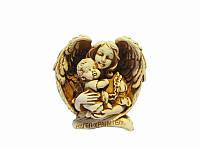 Ангел-хранитель с младенцем (Статуэтки Мраморная крошка)