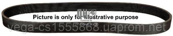 Поликлиновой ремень JP group 1118101400 на Opel Astra / Опель Астра