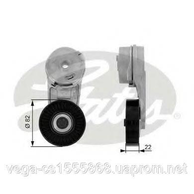 Натяжной ролик поликлинового ремня Gates T38177 на Opel Astra / Опель Астра