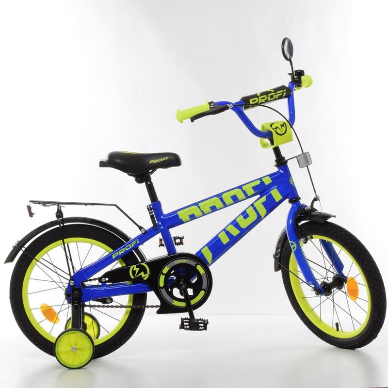 Детский двухколесный велосипед для мальчика PROFI 16 дюймов, T16175 Flash