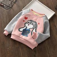 Кофта детская утепленная Lola Bunny розовая