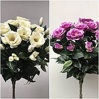 Яркие букеты эустомы, 6 разных расцветок, 14 голов, 50 см., 225/195 (цена за 1 шт. + 30 гр.)