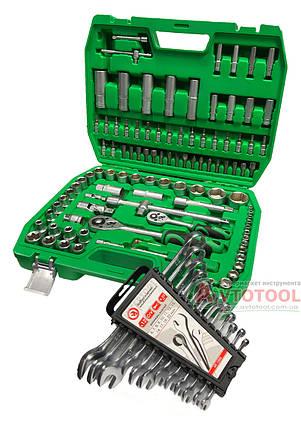 Набор инструментов 108пр. и Набор ключей 12пр. INTERTOOL ET-6108SP-HT-1203, фото 2