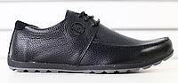 Туфли мужские кожаные черные , фото 1