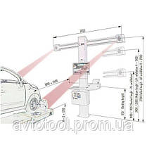 Комплект Развал-схождения 3D HPA C880 и PEAK 409A, фото 2