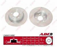 Тормозной диск Abe C4G011ABE на Ford Transit Connect / Форд Транзит коннект, фото 1