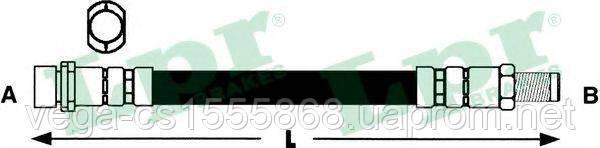 Тормозной шланг LPR 6T48359 на Ford Kuga / Форд Куга