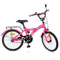 Детский двухколесный велосипед для девочкиPROFI 20 дюймов цвет розовый,Original girlT2062