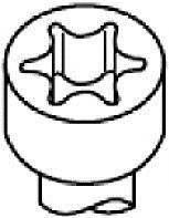 Болт головки цилиндра Payen HBS056 на Ford Scorpio / Форд Скорпио