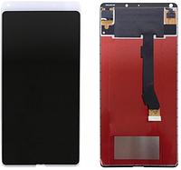 Дисплей (экран) для Xiaomi Mi Mix 2/Mi Mix Evo + тачскрин, белый